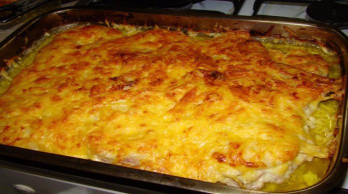 Вкусныеы из фарша и картошки в духовке