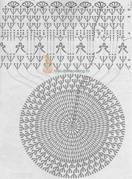 Шляпки, панамки связанный крючком со схемами вязания/3071837_532 (517x700, 295Kb)