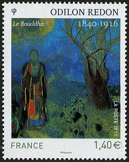 Yt FR 4542 Будда Одилон Редон (252x317, 54Kb)