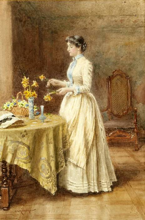 2 George Goodwin Kilburne(1839-1924, English) (463x700, 55Kb)