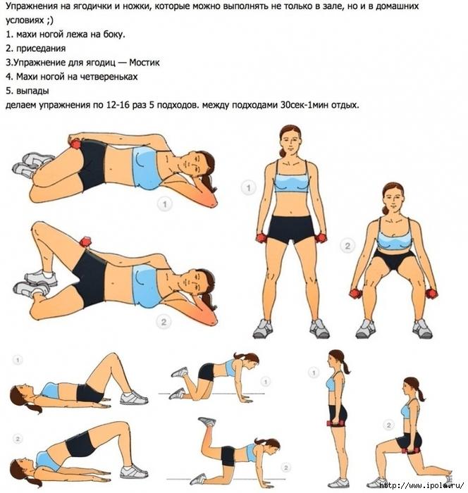 "alt=""Самые эффективные упражнения для ягодичных мышц!""/2835299_yprajneniya_dlya_yagodichnih_mishc1 (664x700, 269Kb)"