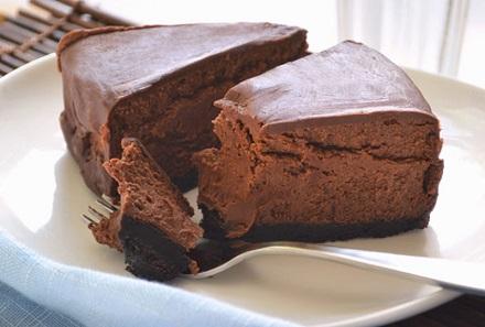 Диетический шоколадный чизкейк (440x297, 52Kb)