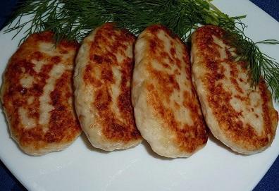 Куриные котлеты с сыром (396x271, 55Kb)