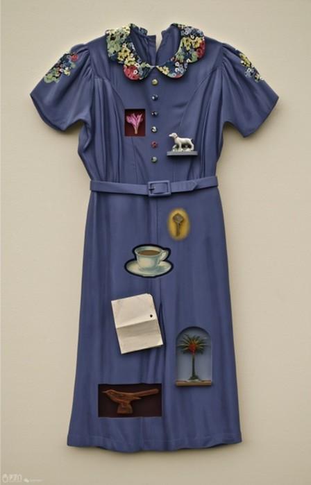 Рон Айзекс - натюрморты из предметов гардероба