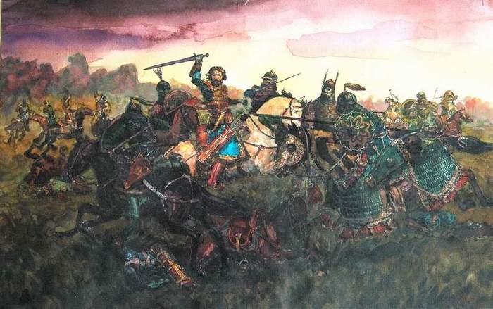 Коварство монголов в битве на Калке   исторические мифы