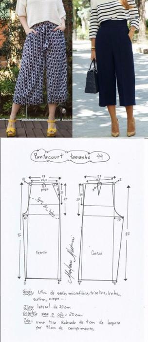брюки кюлоты (304x700, 176Kb)