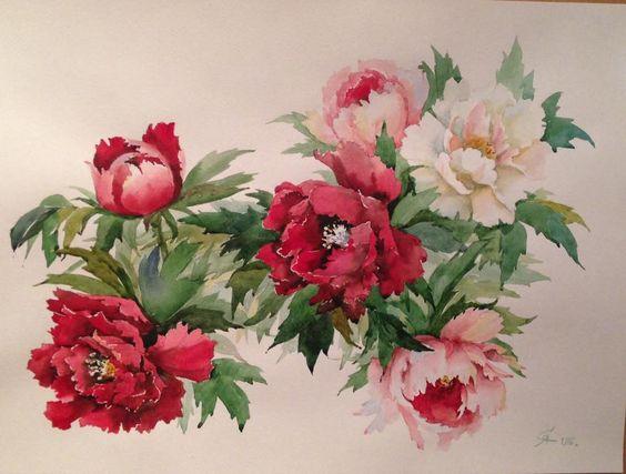 акварельные цветы 5 (564x427, 170Kb)