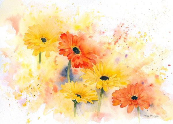 акварельные цветы 13 (600x429, 228Kb)
