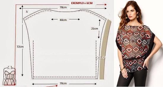 Летние блузки — легкий крой (5) (550x296, 108Kb)
