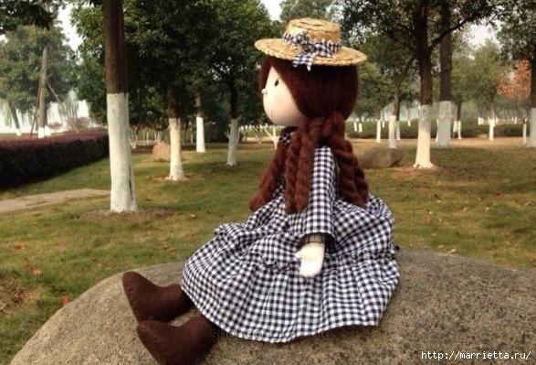 Мастер-класс по пошиву японской текстильной куклы (4) (587x399, 196Kb)
