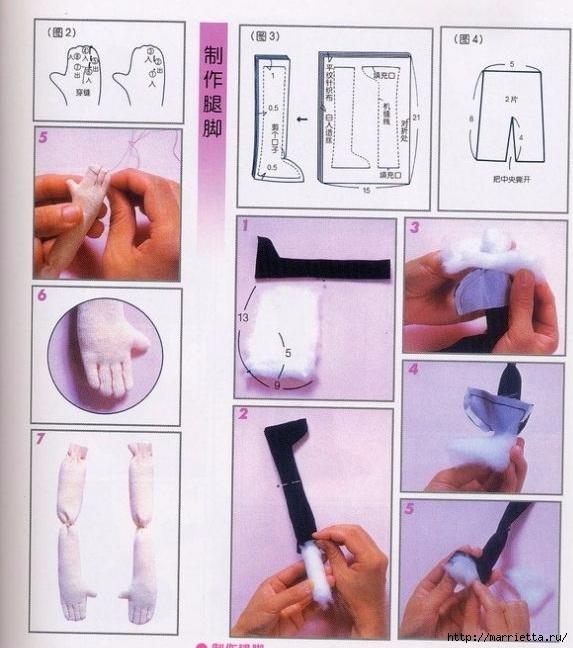Мастер-класс по пошиву японской текстильной куклы (45) (573x648, 204Kb)