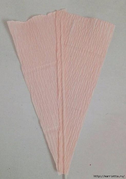 Цветы ЛИЛИИ из гофрированной бумаги. Мастер-класс (6) (491x700, 195Kb)