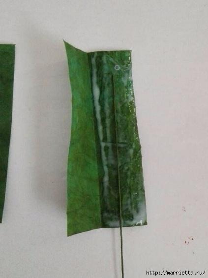 Цветы ЛИЛИИ из гофрированной бумаги. Мастер-класс (40) (423x565, 99Kb)