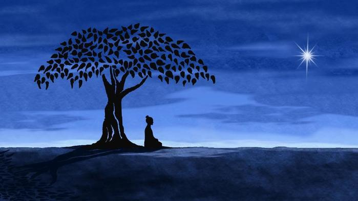 Медитация на звезды помогает нам найти Свою Звезду внутри себя