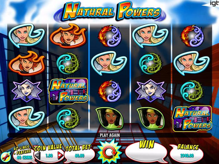 Игровой автомат Natural Powers — Бесплатный онлайн слот от IGT