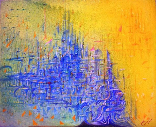 Сны города (615x500, 400Kb)