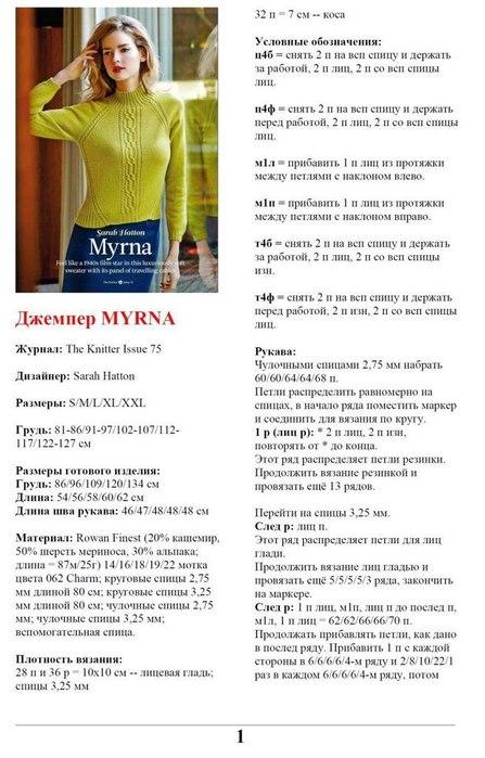 Джемпер Myrna С Доставкой