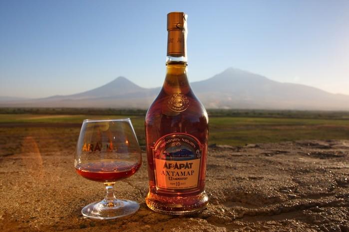 История армянского коньяка