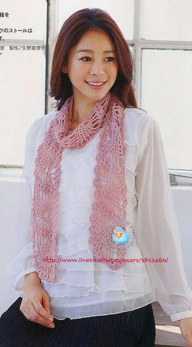 нежный розовый шарфик 2 (387x700, 284Kb)