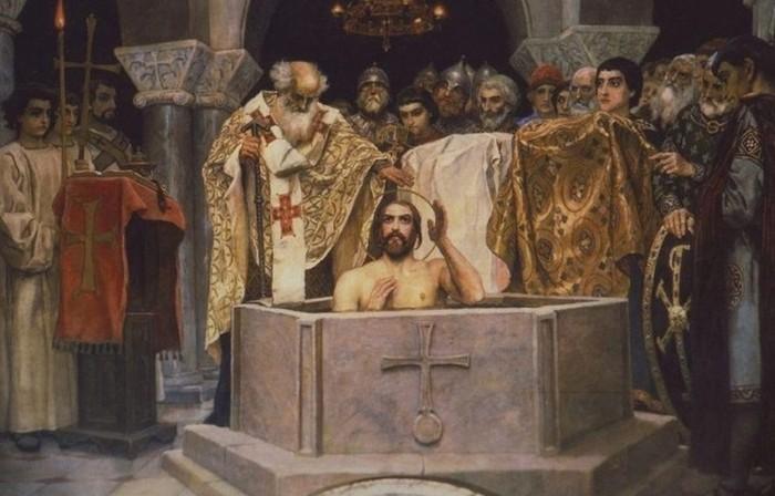 Почему язычник Князь Владимир принял православие