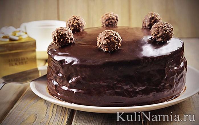 Торт «Ферреро Роше»   рецепт с фотографиями