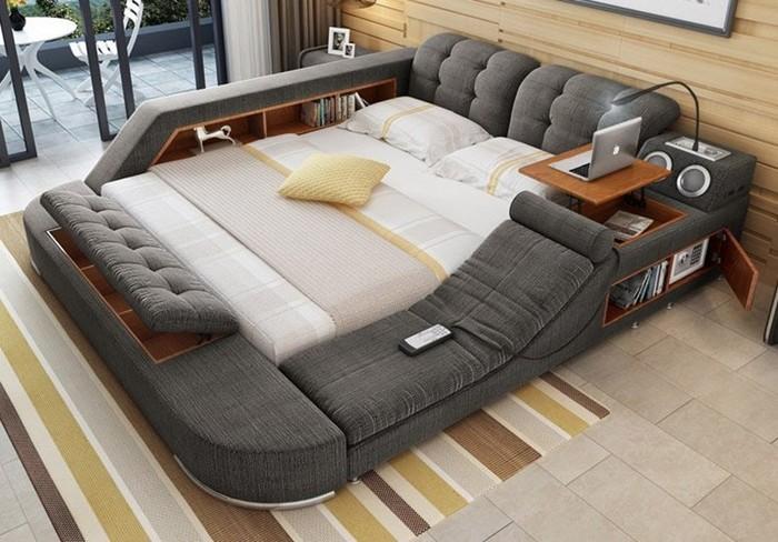 Создана многофункциональная кровать мечты