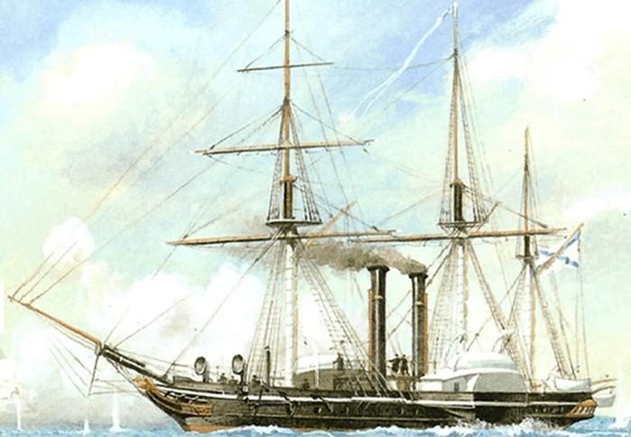 Лучшие боевые пароходы России
