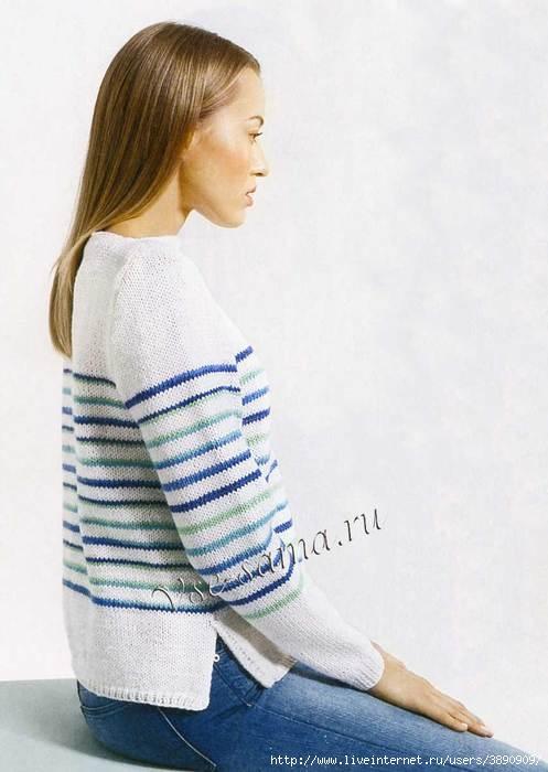 Belyi-pulover-s-poloskami (497x700, 133Kb)