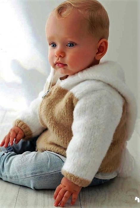 Вязание для детей от 0 до 1 года комбинезоны 766