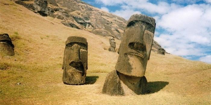 Что же, все-таки, скрыто под головами на острове Пасхи?
