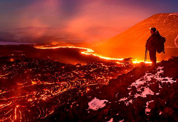 Какое извержение было величайшим в истории?