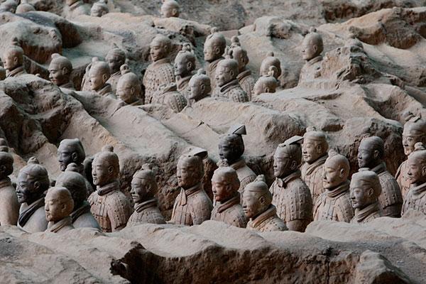 У терракотовой армии Цинь Шихуанди обнаружились греческие предки