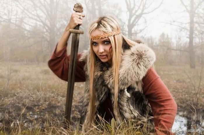 Женщины-гладиаторы, женщины-самураи, женщины-викинги и другие