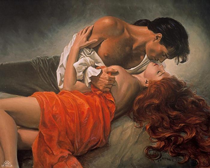 Любовные романы компенсируют женщинам нехватку сексуальных отношений?