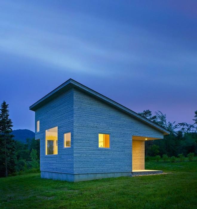 Дизайн маленького дома в Вермонте