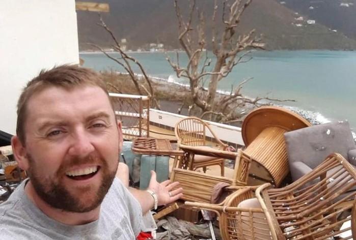 На пятый день после покупки дома мечты его разрушил ураган