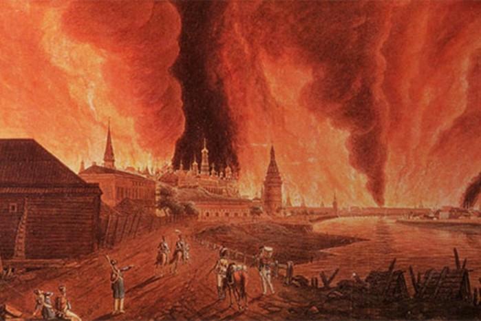 Крупнейшие пожары в Москве