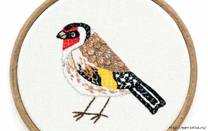 美丽的刺绣:鸟 - maomao - 我随心动