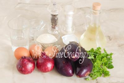 Для приготовления этого вкусного салата нам понадобятся следующие продукты: баклажаны, куриные яйца, репчатый лук, вода, сахар, соль, столовый 9% уксус, рафинированное растительное масло, майонез, петрушка и черный молотый перец/5177462_salatsbaklazhanamiyaicomimarinovannymlukom59bccd948a94d (400x267, 32Kb)
