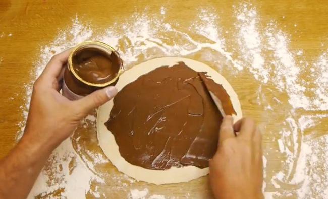 Шоколадная звезда   самый простой десерт