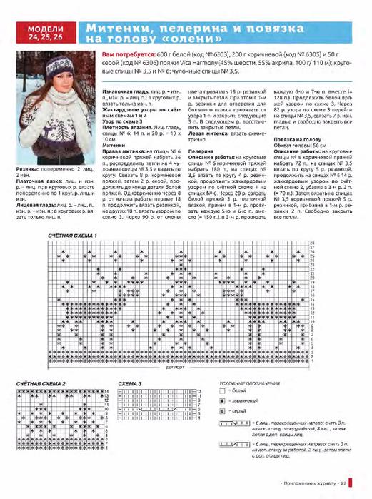 Схема узоров для повязок на голову