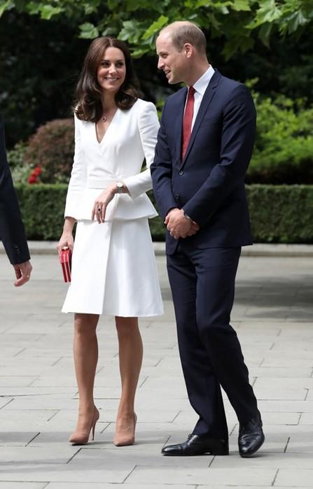 Секреты королевской осанки от герцогини Кембриджской