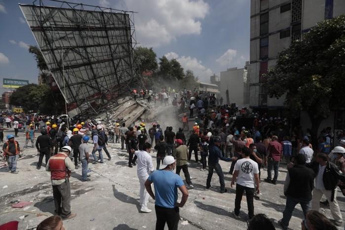 Мексика пострадала от мощнейшего землетрясения