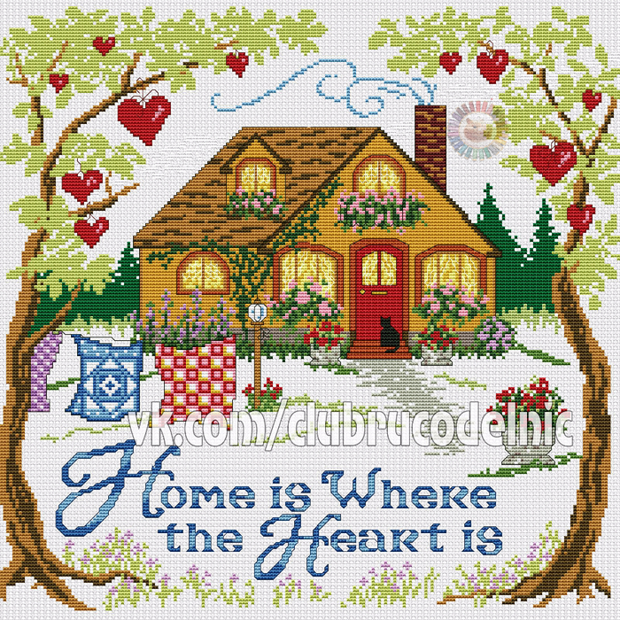 Home is where the heart is (700x700, 902Kb)