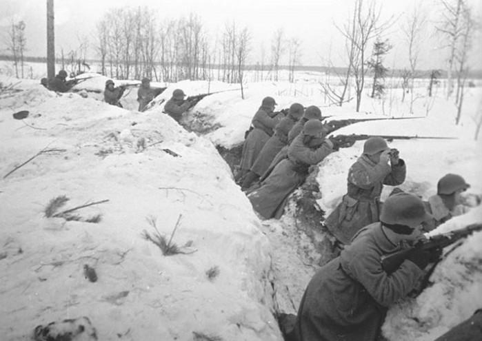 Герои на советско финской войне