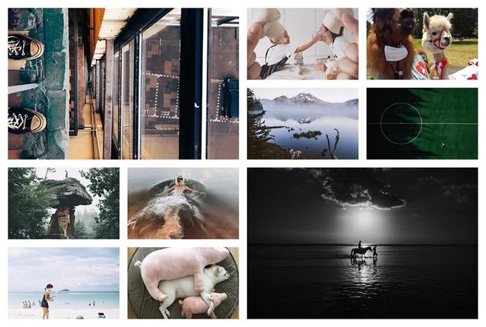 Девушка в Instagram круто копирует легендарные фотографии