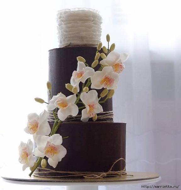 Шоколадный ГАНАШ. Рецепт и идеи тортов (1) (575x606, 132Kb)