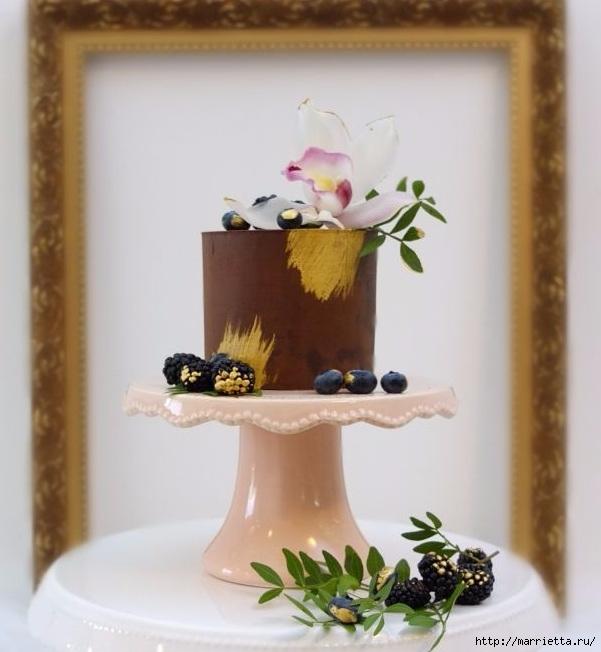 Шоколадный ГАНАШ. Рецепт и идеи тортов (5) (601x652, 166Kb)