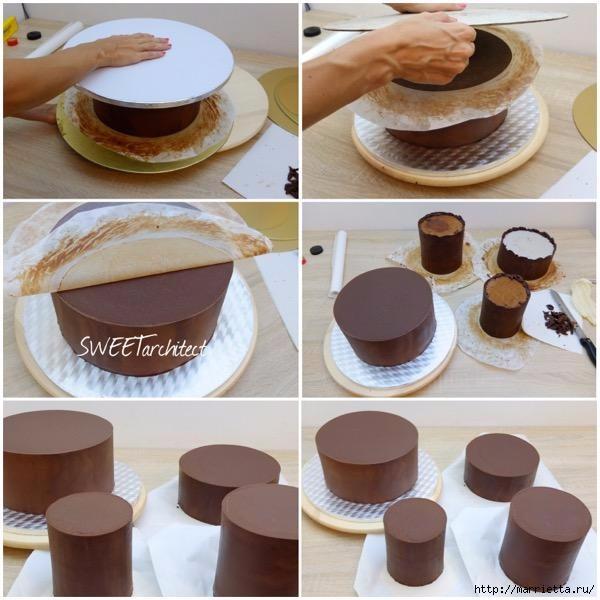 Шоколадный ГАНАШ. Рецепт и идеи тортов (18) (600x600, 171Kb)