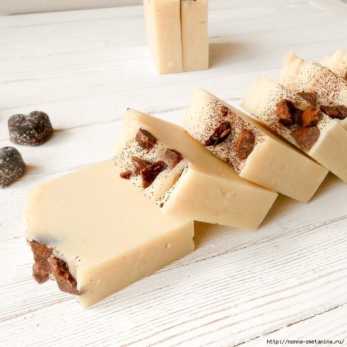 """Натуральное эко мыло """"Белый шоколад""""/4487210_Belii_shokolad10 (700x700, 324Kb)"""